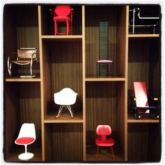 vitra miniature chairs 2