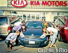 Much love for Giselle's new Kia Rio in Newmarket, Ontario!