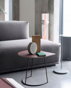 A design with a statement to style any home - Airy Coffee Table  Our better half: This version of our Airy Coffee Table by Cecilie Manz can be used next to the sofa, standing freely in the room or against any wall for a geometrically refined touch.  #muuto #scandinaviandesign
