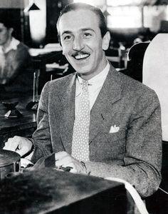 Walt Disney 1937; I wish I could meet him...