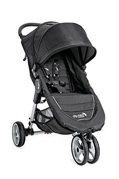 Baby Jogger 2016 City Mini 3W Single Stroller - Black/Gray - http://parenting.mugamboglobalresources.com/baby-jogger-2016-city-mini-3w-single-stroller-blackgray/