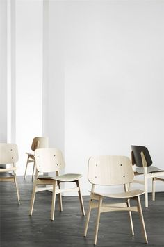 Stunning chairs by Fredericia.