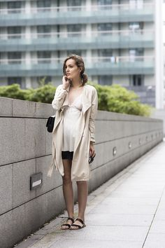 coat dress street women style outfit clothes fashion apparel fall