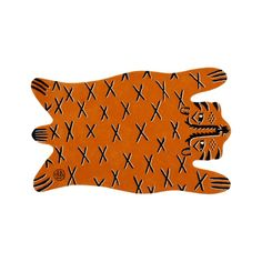 Shop Roxy Marj Faux Tiger 5 x 8' Rug.  No need to fear this not-at-all ferocious tiger rug.  It doesn't bite, it's just looking for a place to lay around.  We recommend any nursery, kid's bedroom or playroom.