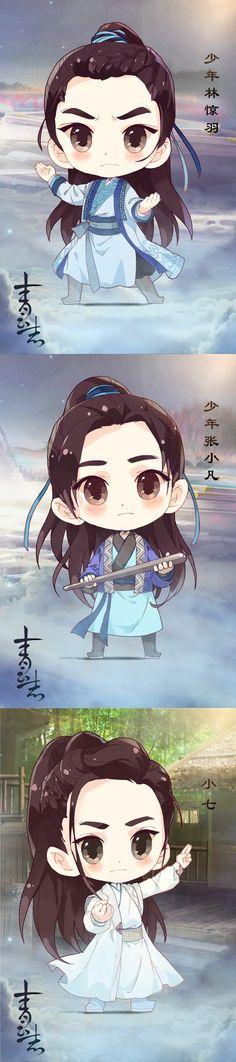 [Chibi] Nhân vật phim Tru Tiên Thanh Vân Chí | Kim Linh động phủ