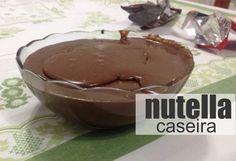 A receita de Nutella, o creme de avelã mais consumido do Brasil foi revelada e você pode fazer na sua casa! Fica bem mais barato e você pode também rechear