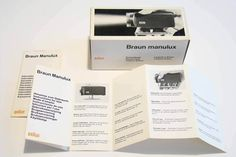 BRAUN MANULUX DT1 Dynamo Handleuchte - Hans Gugelot - 1964 - IN BOX - VERY RARE…