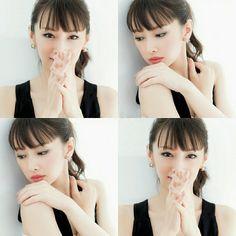 Cute Japanese, Japanese Beauty, Asian Beauty, Beauty Makeup, Hair Makeup, Hair Beauty, How To Make Hair, Sexy Asian Girls, Hair Goals