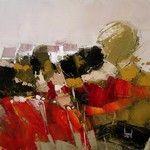 sélection de peintures représentatives Watercolor Flowers, Watercolour, Herve, Painting, Landscape, Abstract, Colors, Palette, Landscape Paintings