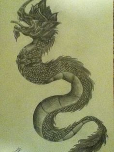 My naga dragon tattoo done by a very talented artist in for Laos tattoo designs