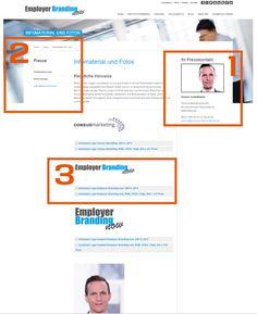 So sollte der #Pressebereich auf der #Webseite strukturiert sein! #OnlinePR
