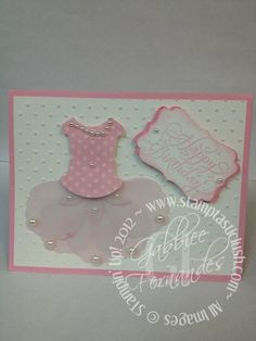 Stampin Up! Birthday Card