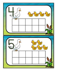 Ducks theme activities, printables, centers and games for preschool, pre-K and Kindergarten. School Age Activities, Kindergarten Math Activities, Fun Math, Preschool Activities, Camping Activities, Book Activities, April Preschool, Preschool Lesson Plans, Preschool Letters
