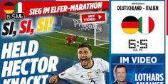 Euro - ALL - Allemagne : «La malédiction vaincue» exulte la presse