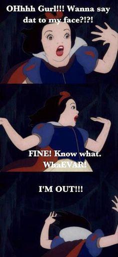 Funny Snow White Pictures (20 Pics)