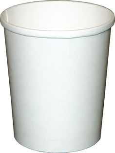 32 oz. Dopaco White Paper Soup / Ice Cream Cups (bulk pack without lids)