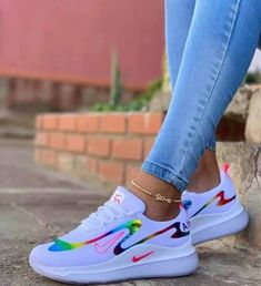Athletic Shoes nike Yüksel Quality Professional Services These photo albums, which you. Cute Sneakers, Sneakers Mode, Sneakers Fashion, Shoes Sneakers, Wedge Shoes, Men's Shoes, Snicker Shoes, Tennis Shoes Outfit, Outfits
