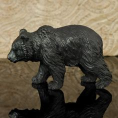 Hand carved arang wood bear.  Did one like this for my nephew!