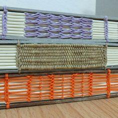 3 pattern #craft #craftbook #bookbinding #binding #handcraft #handsewn
