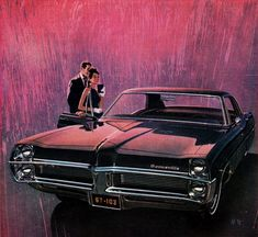 70s Cars, Cars Usa, Retro Cars, Pontiac Parisienne, Pontiac Bonneville, Car Illustration, Car Posters, Car Advertising, Car Drawings