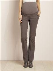 Pantalon droit coton stretch grossesse entrej. 85 cm  - vertbaudet enfant