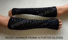 Rocky Horror Frank N Furter gloves Rocky Horror Costumes, Cosplay Costumes, Halloween Costumes, Costume Ideas, Gloves, Halloween Costumes Uk, Halloween Outfits