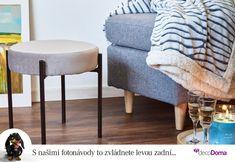 Není nic radostnějšího, než hodinka strávená v oblíbeném křesle. Zabydlete si ho tak, abyste z něj v zimě nechtěli vystrčit ani nos. Beránkové deky, které najdete na našem e-shopu, si zamilujete. Ottoman, Chair, Table, Furniture, Home Decor, Decoration Home, Room Decor, Tables, Home Furnishings