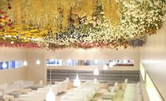 Rebecca Louise Law creates a flower installation for NetJets   Wallpaper*