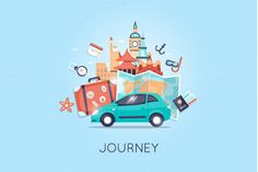 Tourism and vacation theme. by Podis on @creativework247