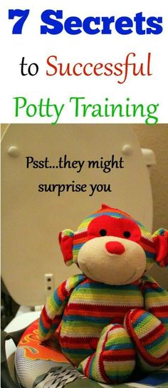 7 Secrets to Successful potty training, such GREAT advice! Pinning this for when I need it!