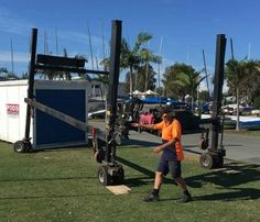 Are you looking for a temporary, secure, weatherproof and low-impact event storage solution? The Royal Queensland Yacht Squadron were - and PODS helped. Impact Event, Secure Storage, Big Houses, Storage Containers, Storage Solutions, Commercial, The Unit, Large Homes, Shed Storage Solutions