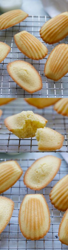 Madeleine is a French cookie/cake made of butter, eggs, and flour. Easy recipe for the best madeleine that you can't stop eating | rasamalaysia.com