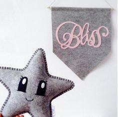 Star Pilot estrella almohada regalo de la ducha del por LilyRazz