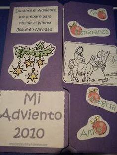 Familia Católica: Lapbook de Adviento 2013