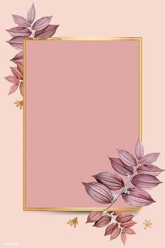 Rectangle foliage frame on peach background vector Peach Background, Flower Background Wallpaper, Framed Wallpaper, Cute Wallpaper Backgrounds, Flower Backgrounds, Vector Background, Background Patterns, Cute Wallpapers, Iphone Wallpaper