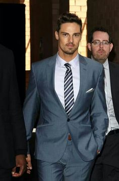 Jay Ryan looking REALLY SHARP and DANDY!! hey there fine looking man! :D ;)