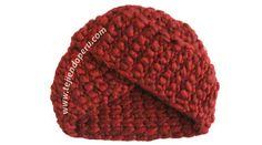 Paso a paso: gorro tipo turbante tejido en ganchillo tunecino Crochet Turban, Crochet Baby Poncho, Crochet Art, Tapestry Crochet, Tunisian Crochet, Crochet Scarves, Crochet For Kids, Crochet Flowers, Free Crochet