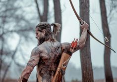 """Viking, Child of Odin"" .Renaissance Nordic vikings cosplay at it's best! From Asgard to Valhalla! Music: ""Celtic Warrior"" by Damiano Baldoni Please consid. Gorgeous Men, Beautiful People, Beautiful Men Bodies, Hipster Noir, Hair And Beard Styles, Long Hair Styles, Viking Beard Styles, Viking Men, Viking Warrior"