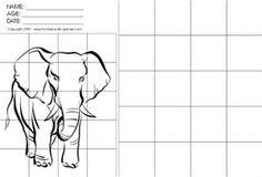 Image result for Grid Art Worksheets