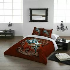 Gothic Bed Alchemy Bedding Linen Linens Beds Dorm Room Full Metal Alchemist