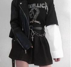 Grunge Outfits, Hipster Outfits, Gothic Outfits, Edgy Outfits, Teen Fashion Outfits, Cute Casual Outfits, Girl Outfits, Fashion Clothes, Black Outfit Grunge