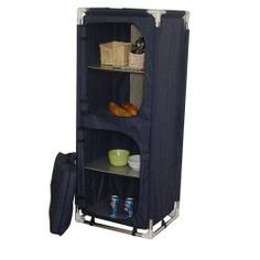 Folding Camp Table With Storage Bins Westfield TA Picnic - Closet ideas for tent camping