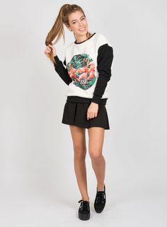 CREW KAOTIKO REDONDA FLAMENCOS  Kaotiko BCN - Streetwear since 1999.