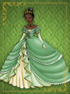 Disney Queen Tiana designer collection by LeleDraw
