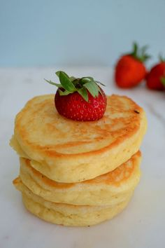 Hot Cakes - These hot cakes are light and fluffy and a mile high. After trying these, you may never make traditional pancakes again.