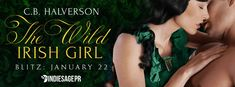 New Release  A Giveaway  The Wild Irish Girl  by C.B. Halverson  The Wild Romantics #1  Publication Date: January 22 2017  Genres: Adult Historical Romance Regency Erotic  AVAILABLE NOW!  Amazon: http://amzn.to/2mX5ayo (#FREE with #KindleUnlimited)  Paperback: http://amzn.to/2F0vtLh  SYNOPSIS:  Audrey Byrnes doesnt mind playing the wild Irish princess for Londons elite aristocracyas long as they buy her novels. With her fathers Dublin theater in ruins and her sisters illness growing worse…