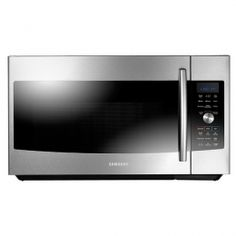 "MC17F808KDT 30"" Over-the-Range Convection Microwave with 1.7 Cu. Ft. Capacity, Slim Fry Technology, Ceramic Enamel Interior, 3-Speed 300 CFM Venting System, and LED Cooktop Light in Stainless Steel"