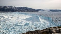 Melting away: the Helheim Glacier in southeast Greenland