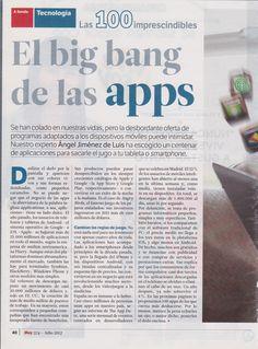Julio 2012. El big bang de las apps. Página 1 de 7.