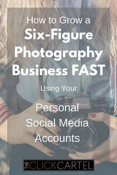 How to grow a six figure photography business fast using your personal social…